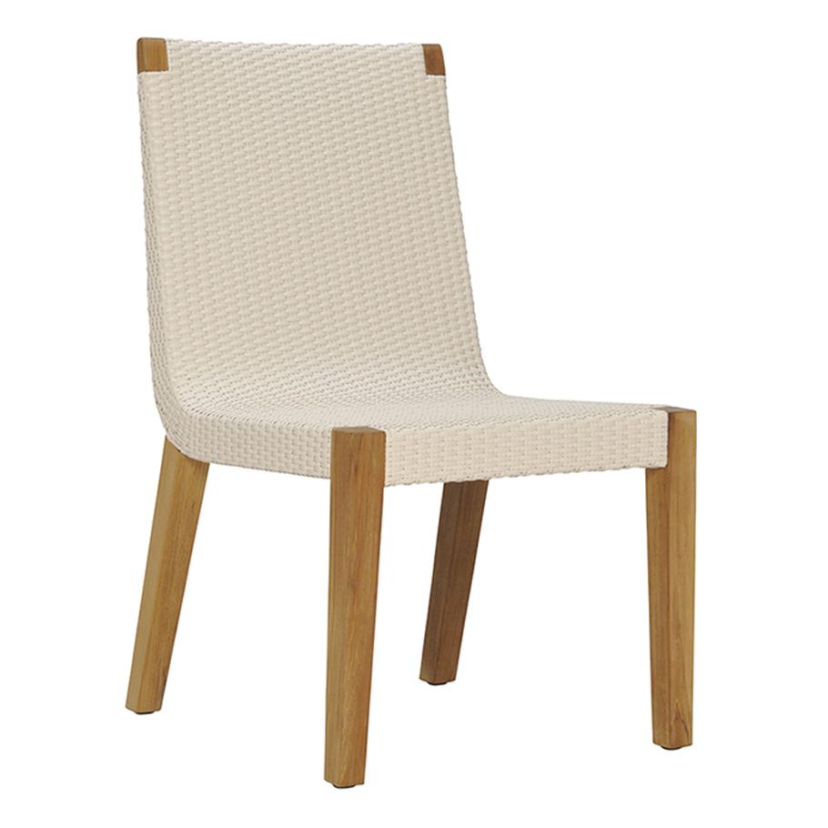 About A Chair 12 Side Chair.Quinta Teak Woven Side Chair Janus Et Cie