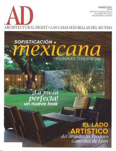 Architectural Digest Mexico – March 2011