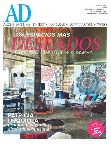 Architectural Digest Mexico – July 2011