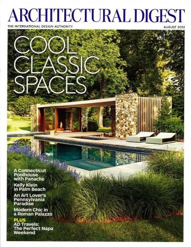Architectural Digest - August 2012
