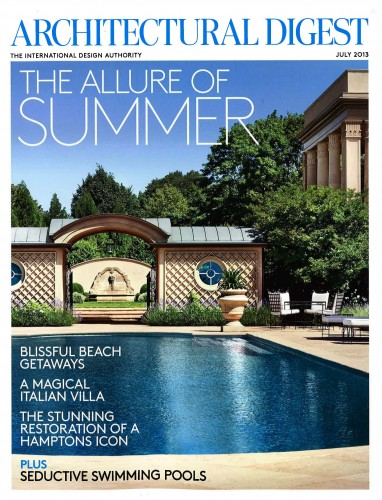 Architectural Digest – July 2013