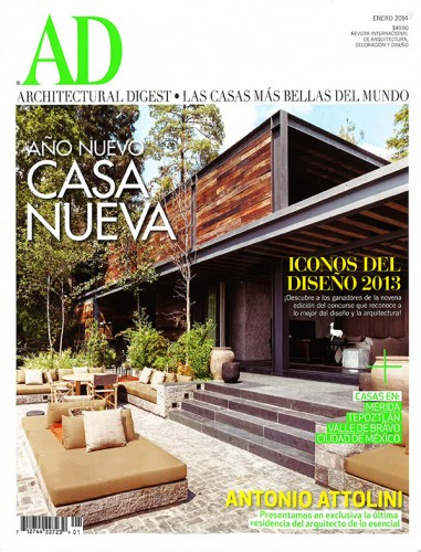 Architectural Digest Mexico - January 2014