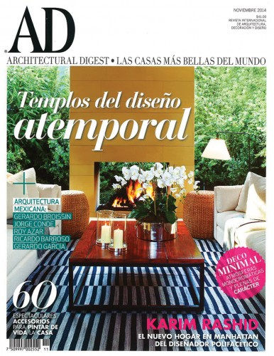 Architectural Digest Mexico - November 2014
