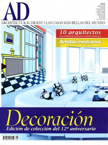 Architectural Digest Mexico – June 2012