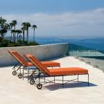 Amalfi chaise lounge janus et cie for Amalfi chaise lounge
