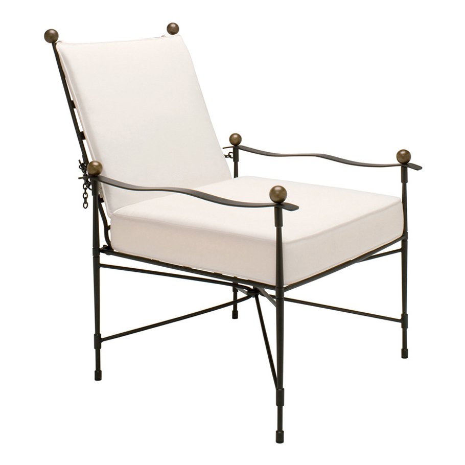 Pleasant Amalfi Adjustable Chain Back Lounge Chair Janus Et Cie Ncnpc Chair Design For Home Ncnpcorg