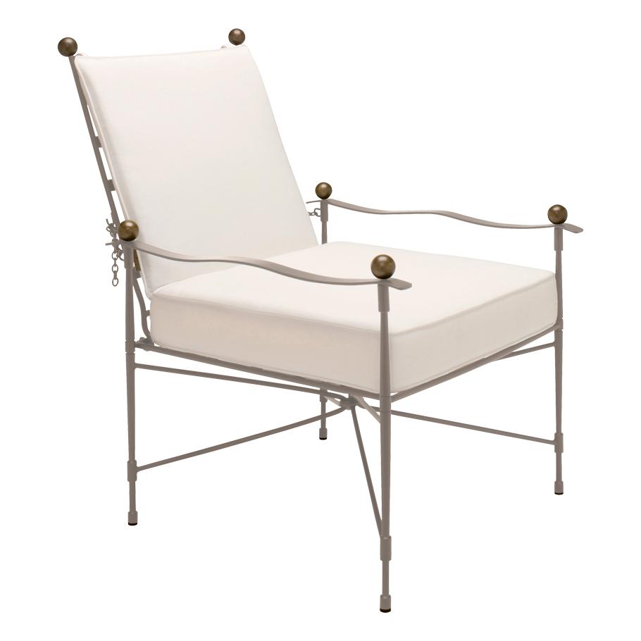 Amalfi Adjustable Lounge Chair in Moonstone