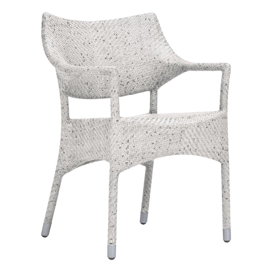 Amari Rattan Petite Armchair