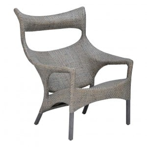 Amari Rattan High Back Lounge Chair Janus Et Cie