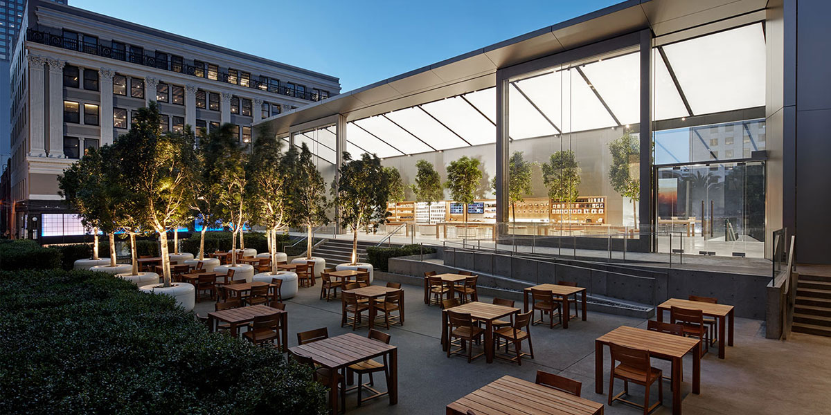 Apple Store Union Square, San Francisco, CA