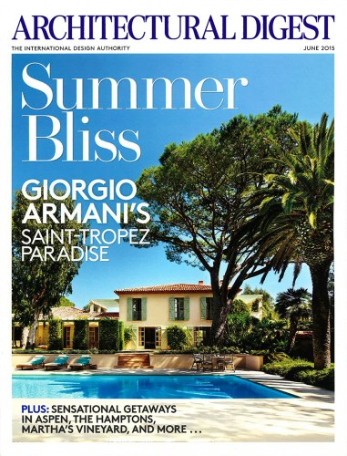 Architectural Digest - June 2015