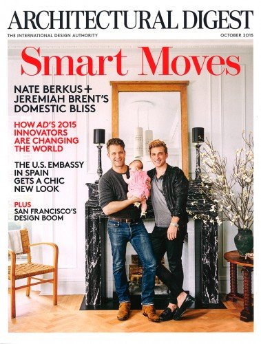 Architectural Digest - October 2015