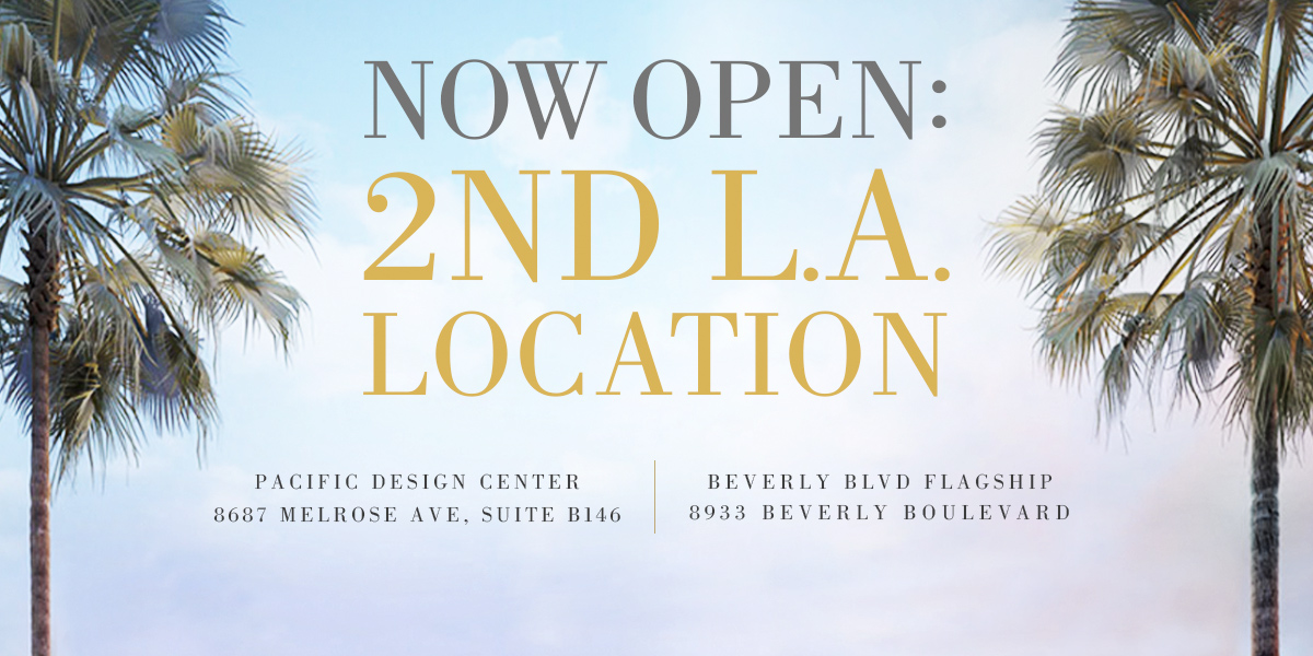Click to View Our Beautiful New Beverly Blvd Storefront