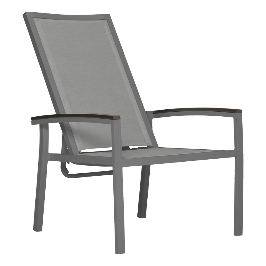 Duo Mesh Reclining Lounge Chair