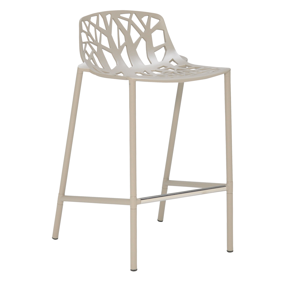 forest low back counter stool  janus et cie - add to my portfolio