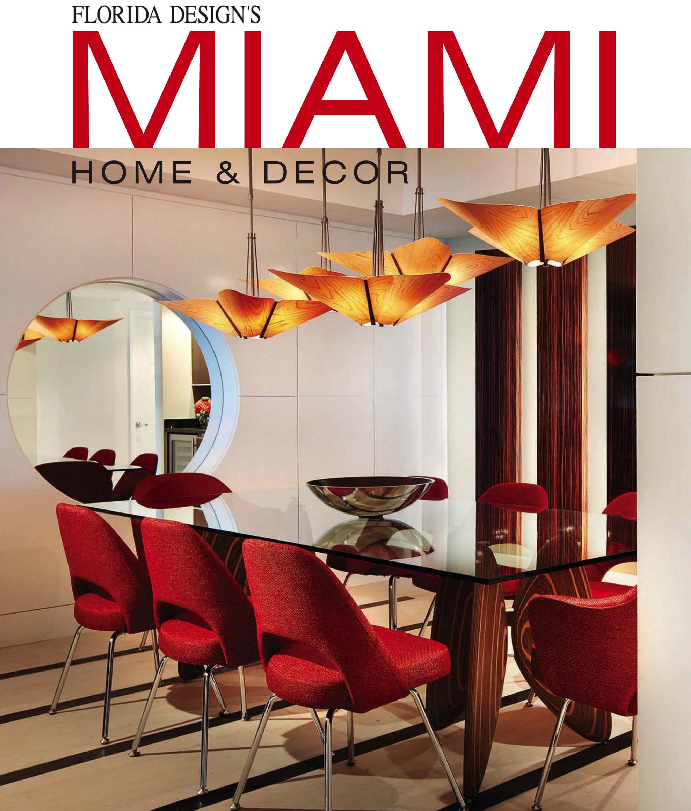 Miami Home Decor Winter Spring 2013 JANUS Et Cie