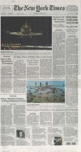 NY Times – June 2011