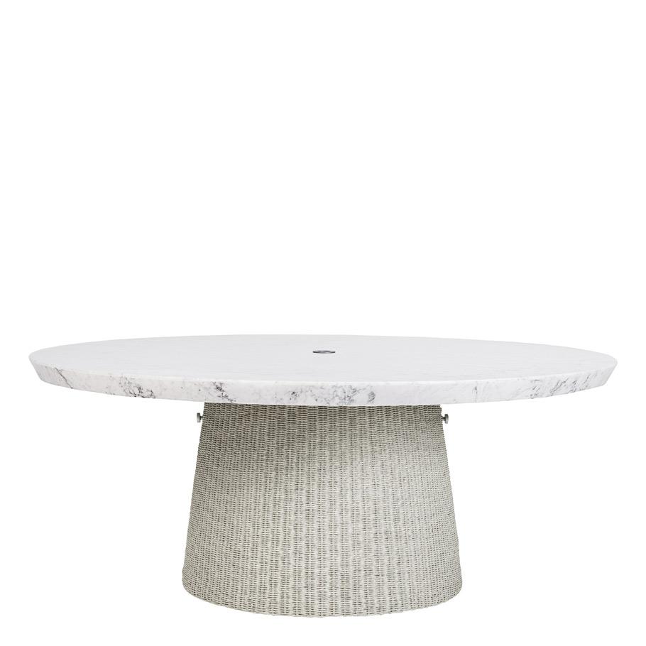 Strada Stone Top Dining Table Round 181 Janus Et Cie