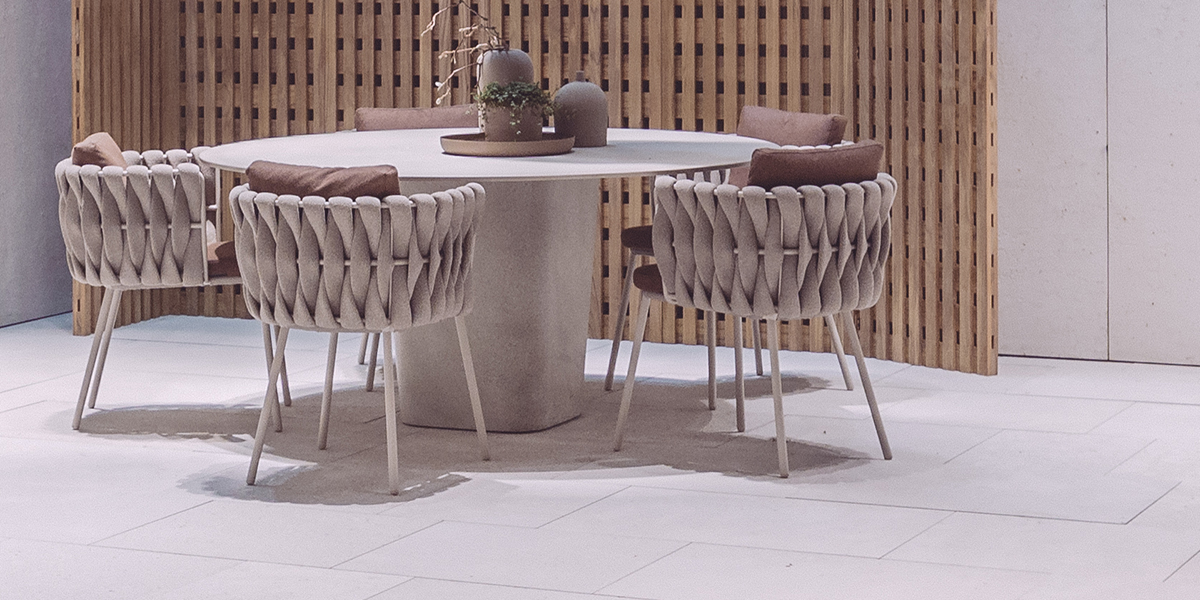 Tao Dining Table: Designed by Monica Armani for TRIBÙ