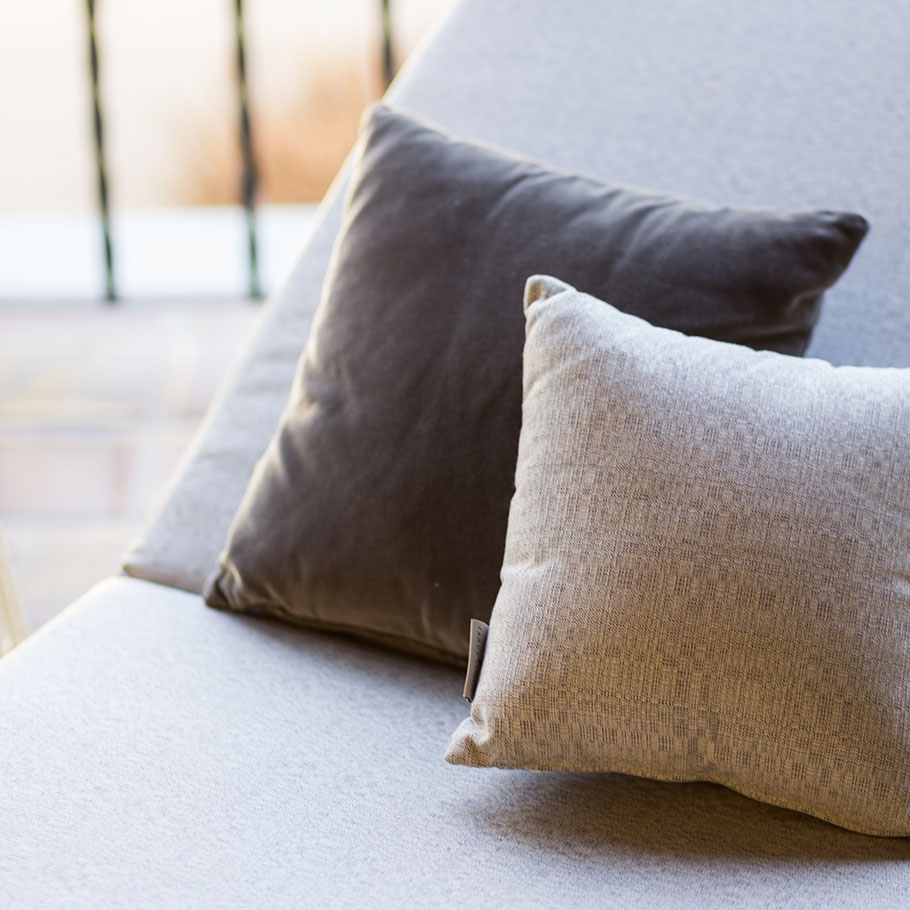 GENERAL CARE FOR CUSHIONS