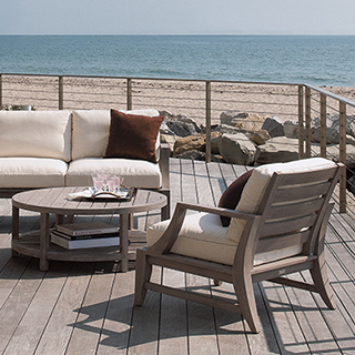 PAINTED, PATINATED  OR WEATHERED FINISHED TEAK