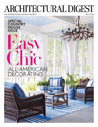 Architectural Digest - July 2016